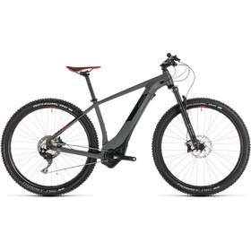 Cube Reaction Hybrid SLT 500 KIOX E-MTB Hardtail grey